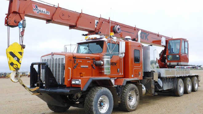 new and used boom trucks for sale