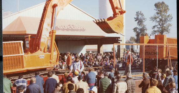 Ritchie Bros. Auctioneers Surrey, BC auction 1979